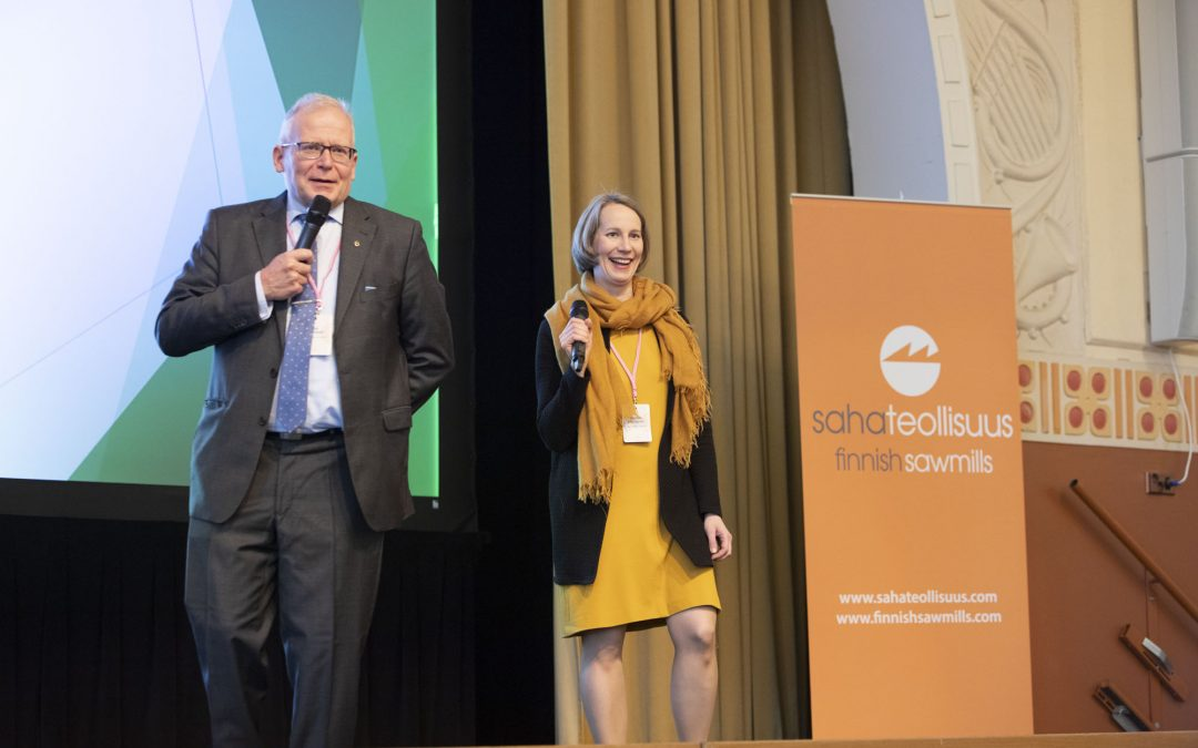 Wood from Finland-konferenssi: Suomalainen sahatavara kiinnostaa maailmalla